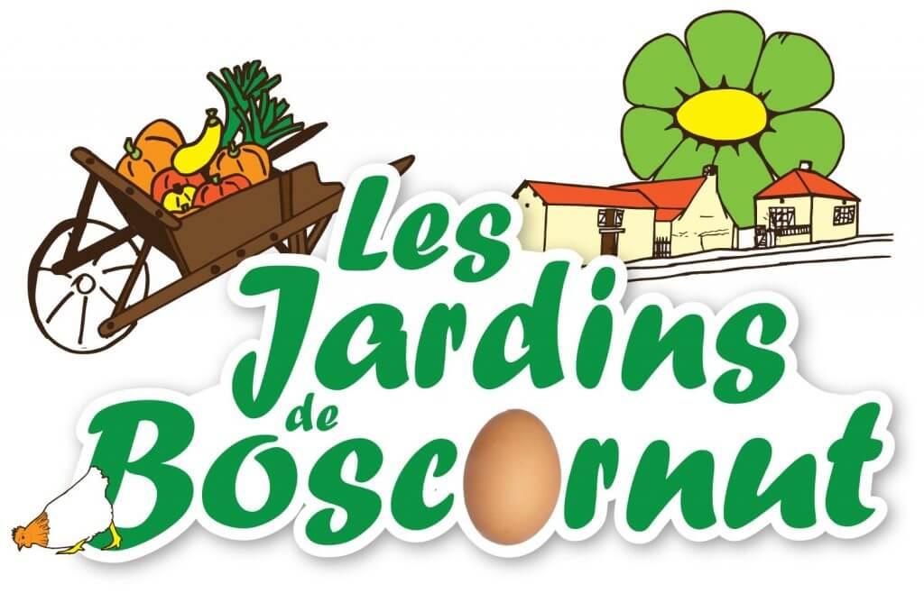 logo des jardins de boscornut